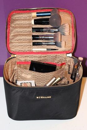 side  bag   with  make up  box