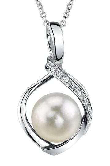 Charm Peacock Design Pearl Jewelry 925 Sterling Silver Jewelry Fashion Pearl Pendant Necklaces for Women 18k.