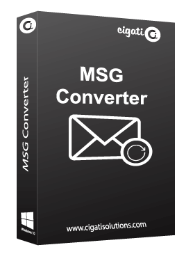 Cigati MSG Converter Swiftly Exports & Converts Multiple MSG Files into Multiple File Formats