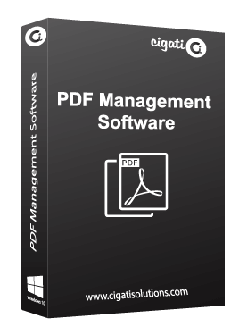 Cigati PDF Manager Tool