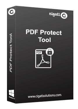 Cigati PDF Protect Tool to Secure PDF files with Various Security Parameters