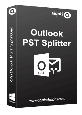 Cigati Outlook PST Splitter Tool