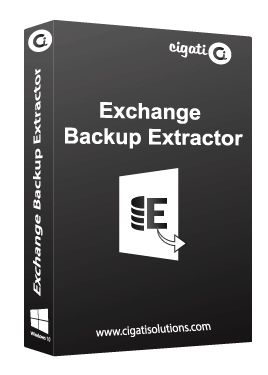Cigati Exchange Backup Extractor Tool